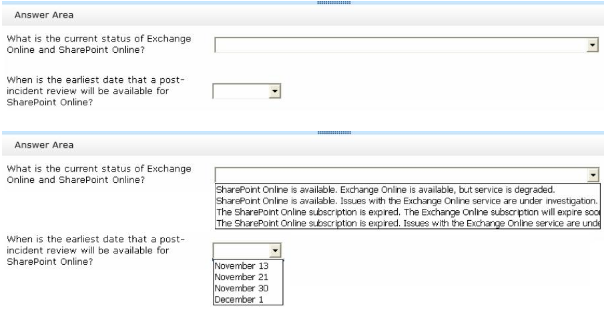 Questions & Answers for Microsoft 70-346 Page No-87